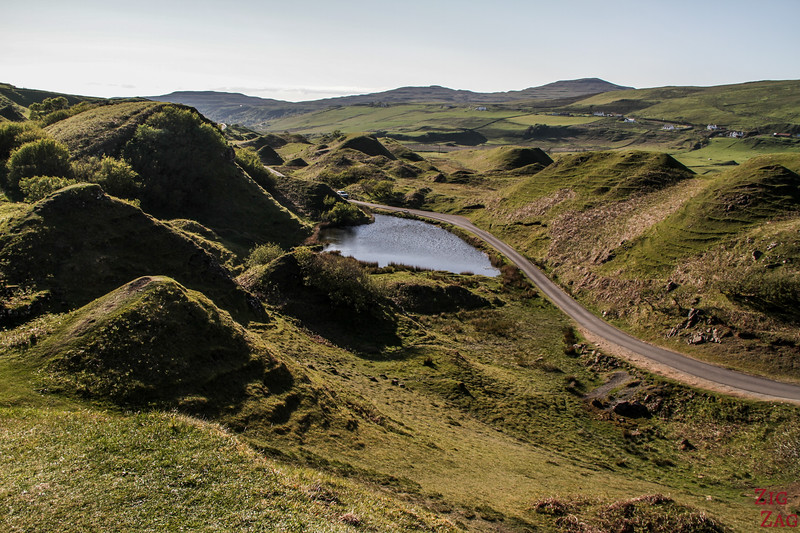 Fairy Glen Skye - the view 1