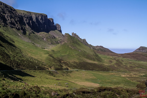 Point de vue Quiraing Ile de Skye Ecosse 5