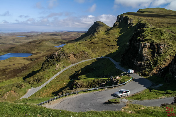 Point de vue Quiraing Ile de Skye Ecosse 6