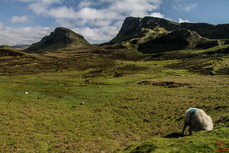 Quiraing Isle of Skye - Trotternish ridge 3