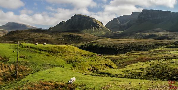 Quiraing ile de Skye - Crête de Trotternish 5