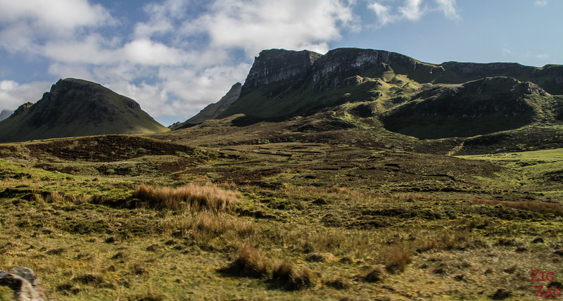 Quiraing Isle of Skye - Trotternish ridge 4