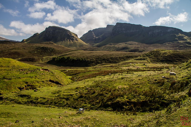 Quiraing Isle of Skye - Trotternish ridge 2