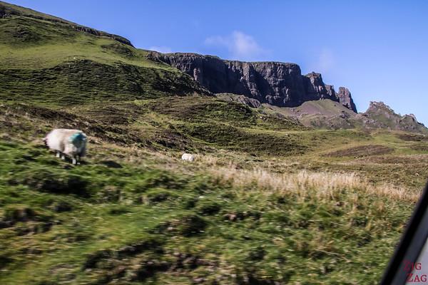 Quiraing ile de Skye - Crête de Trotternish 1