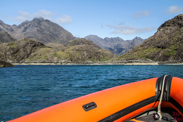Bateau Elgol Loch Coruisk Skye Ecosse 3
