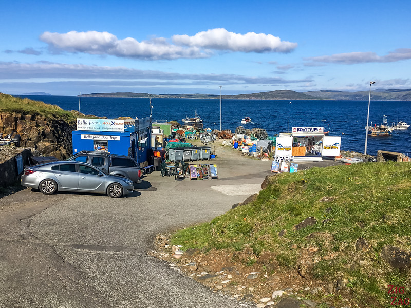 Elgol Boat trip Parking