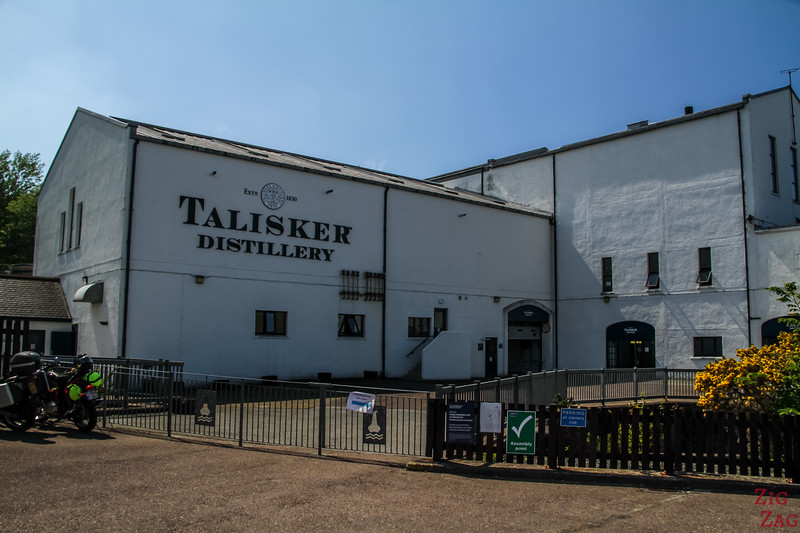 Things to do in Skye island - Talisker distillery