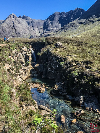 Skye Fairy Pools - waterfall 4