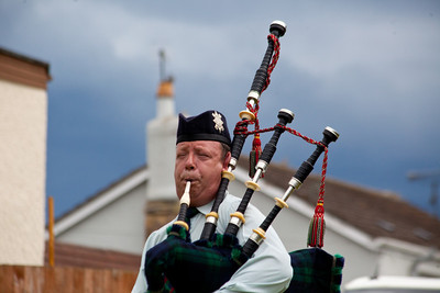 The bagpipe competition.