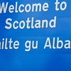 About 4-5 hours into the 8 hour drive we see the Scotland sign.