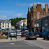 Oban. Sea to the left, High Street to the right