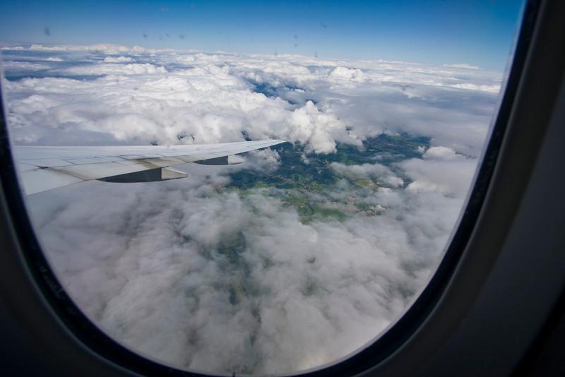 Approaching Glasgow