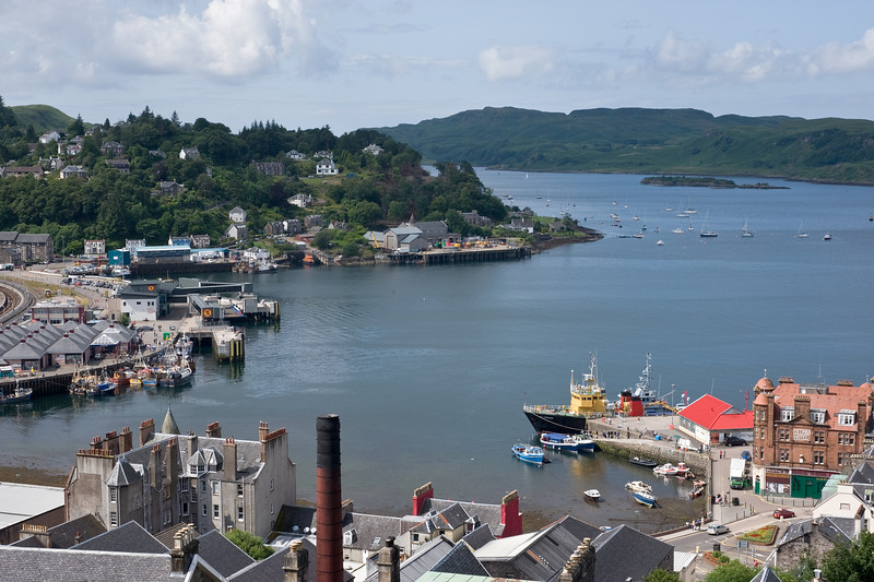 Oban, from McCaig's Tower