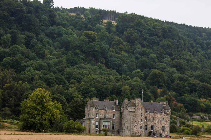 Castle Menzies in Perthshire.  Bonnie Prince Charlie stayed there for two nights before the fateful Battle of Colloden in 1746.