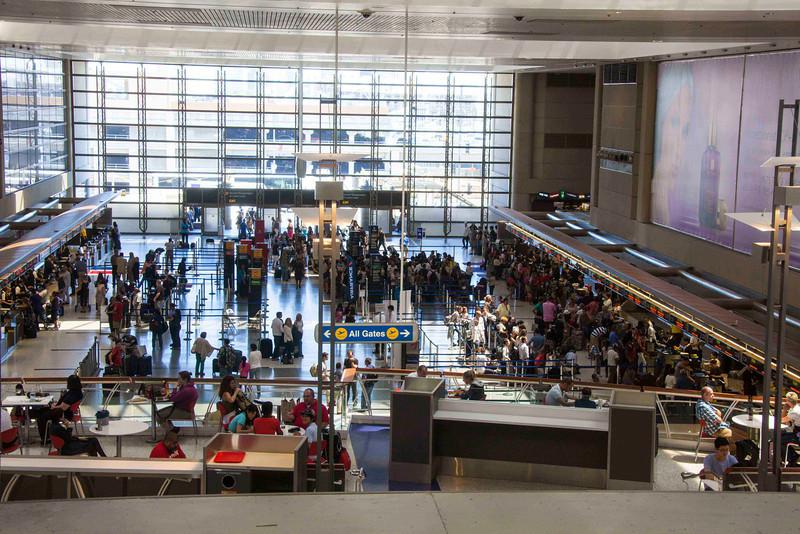 LAX Bradley Terminal Check-in Area B