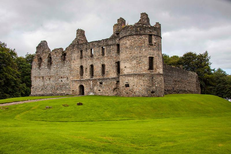 Balvenie Castle (1550 AD) in Dufftown, next to Glenfiddich.