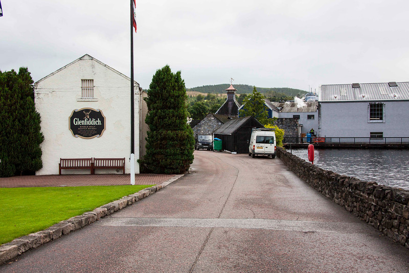 Glenfiddich is the only one of the many Dufftown distilleries to cater to visitors.
