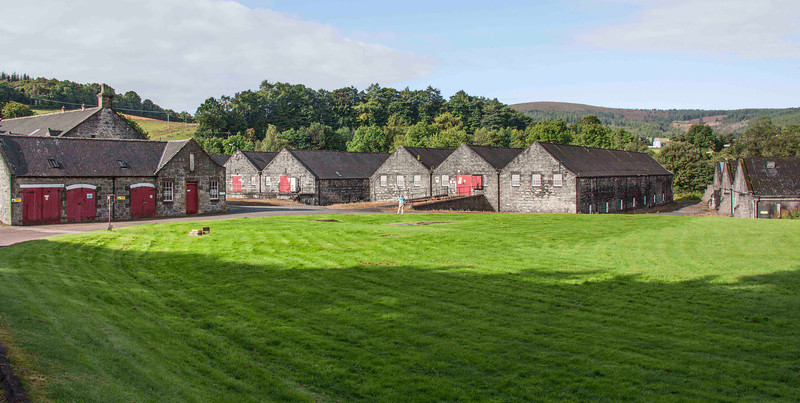 Thousands of casks of whisky are ageing in these warehouses, getting more valuable by the day, but this distillery may never produce again.