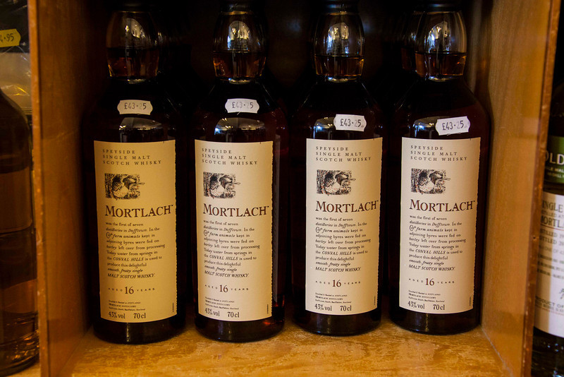 Collectors items. £43.25 is about US$70, very reasonable for a disappearing 16 year-old single malt whisky.