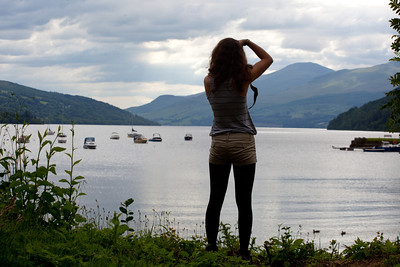 We then went to Loch Tay.