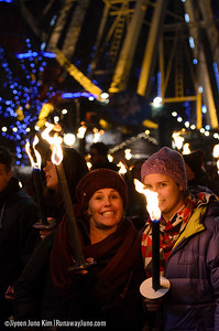Edinburgh's Hogmanay Torchlight Procession 2014/15