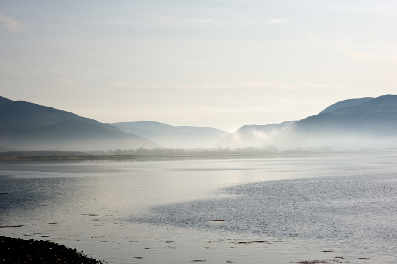 Loch Carron, early morning