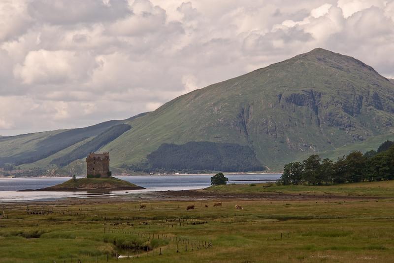 Castle Stalker, pron. Stal-ker, Loch Linnhe
