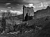 Urquahrt Castle on Loch Ness