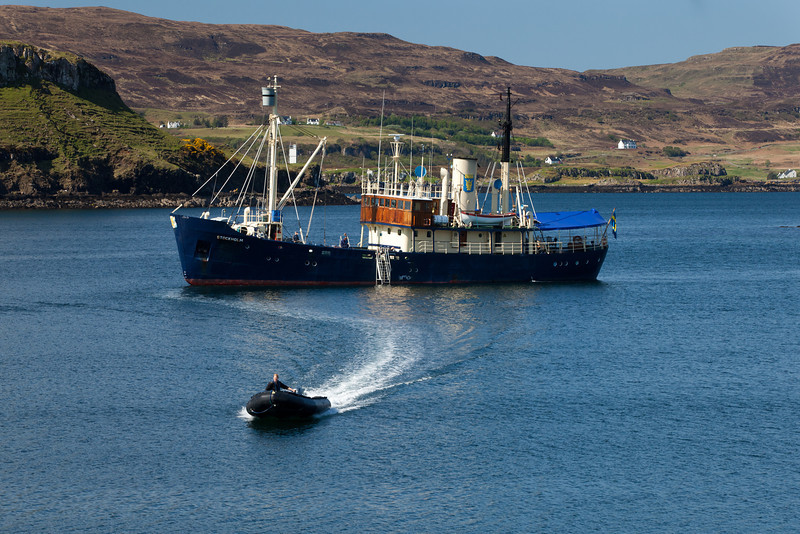 The M/S Stockholm at Dunvegan, Isle of Skye