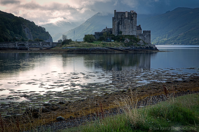 Eilean Donan Castle in the western highlands of Scotland.