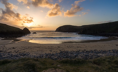 Sunset over the Isle of Lewis