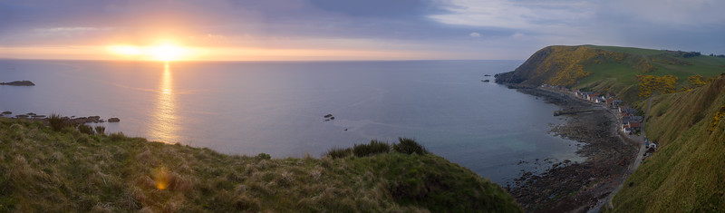 Panorama Sunset Crovie