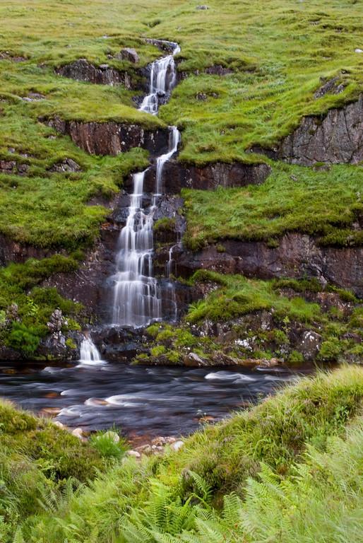 Waterfall at Glen Etive