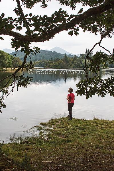 MR, Marilyn, Loch Oich, Caledonian Canal; Great Glen Way; Scottish Highlands, Scotland; United Kingdom, Europe