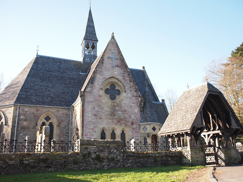 Church, Luss Village, Loch Lomond