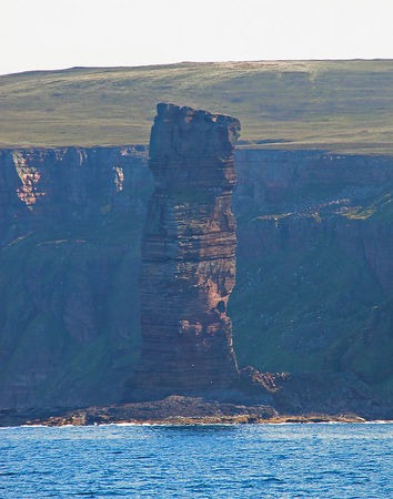 Old Man of Hoy, off the North Coast of the way to the outter isles.