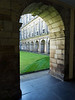 The inner courtyard @ Hollyrood Palace