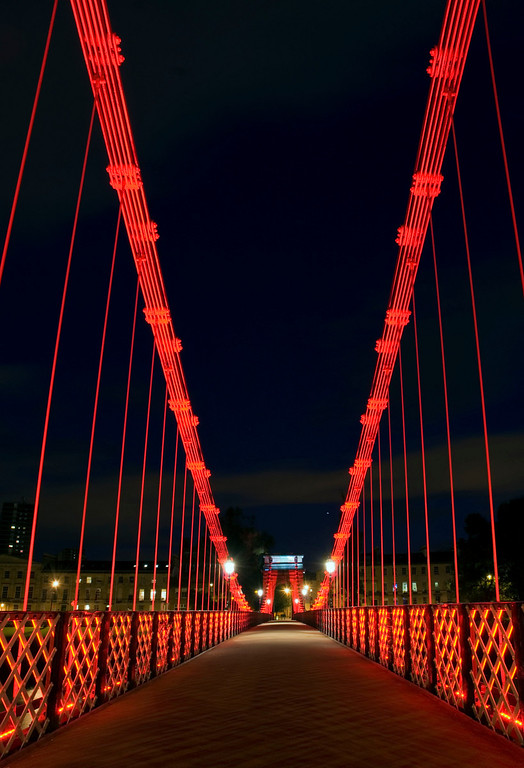 Carlton Suspension Bridge, Glasgow