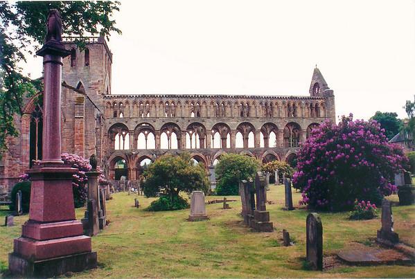 Abbaye Jedburgh Scotland - Jun 1996