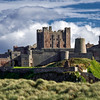 Bamburgh Castle is located on the coast at Bamburgh in Northumberland, England. Home to the Kings of Northumbria this magnificent coastal castle was completely restored in 1900.