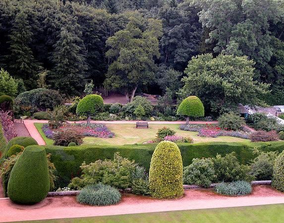 Gardens at Culzen Castle