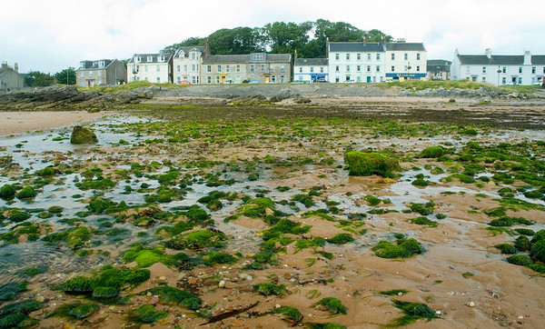 Low tide at Millport, Scotland