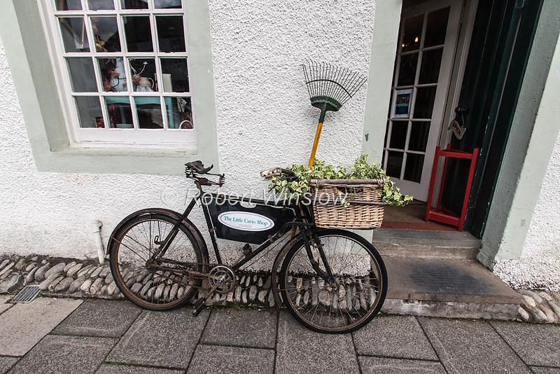 Bicycle, Dunkeld, Scotland, United Kingdom, Europe