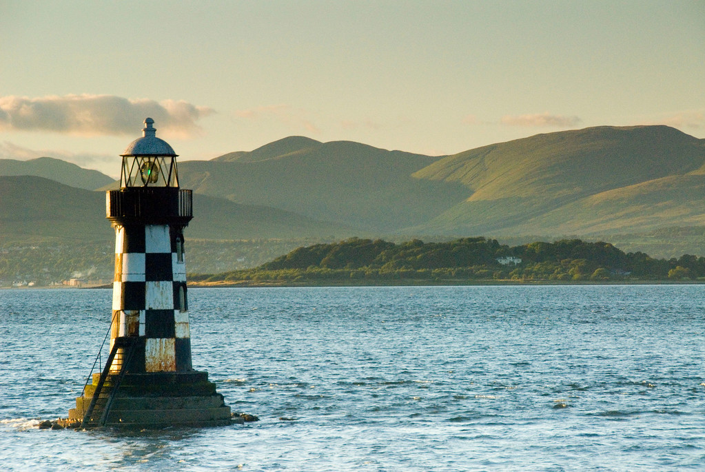 Lighthouse, Port Glasgow, Scotland