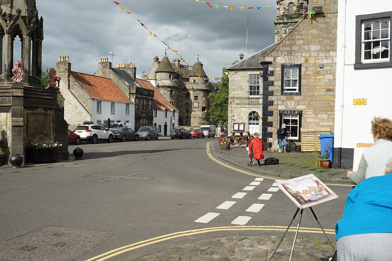 Falkland Village North of Edinburgh