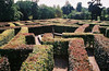 "The ""Hedge Maze"" at Scone Palace, Scotland."