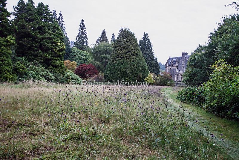 Glengarry Castle Hotel, Loch Oich, Caledonian Canal; Great Glen Way; Scottish Highlands, Scotland; United Kingdom, Europe