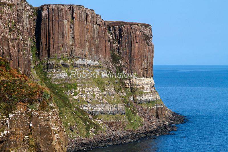Kilt Rock, Isle of Skye, Inner Hebrides, Scotland, United Kingdom, Europe