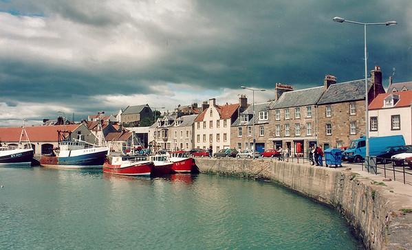 Pittenween harbour East Newkt of Fyfe Scotland - Jun 1996