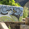 Mosaic Bench for Kitties